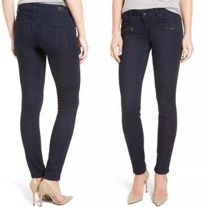 Paige Denim Indio Zip Super Skinny Jeans/Alena/27